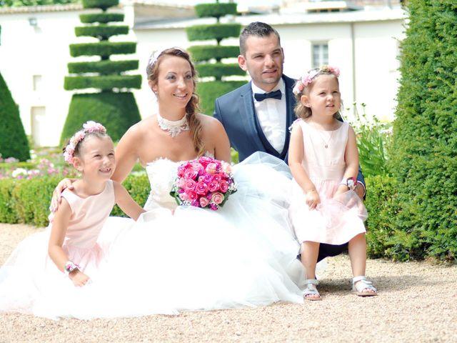 Le mariage de Aurélien et Marjorie à Saint-Trivier-sur-Moignans, Ain 7