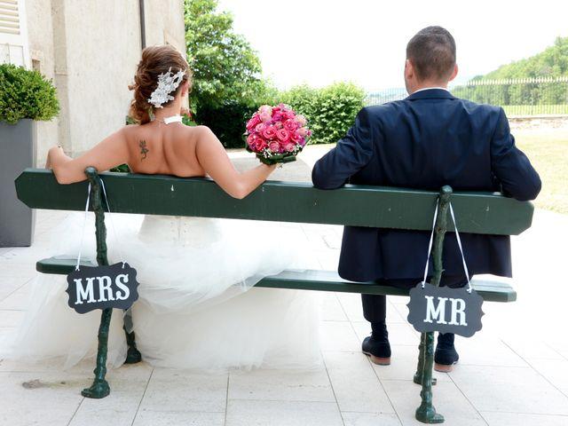 Le mariage de Aurélien et Marjorie à Saint-Trivier-sur-Moignans, Ain 17
