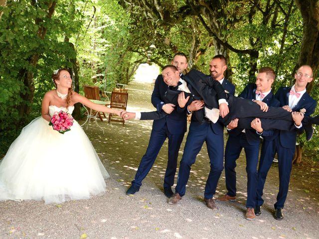 Le mariage de Aurélien et Marjorie à Saint-Trivier-sur-Moignans, Ain 25