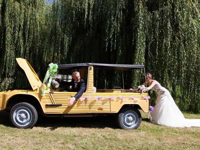 Le mariage de Luc-Marie et Marie à Circourt, Vosges 4