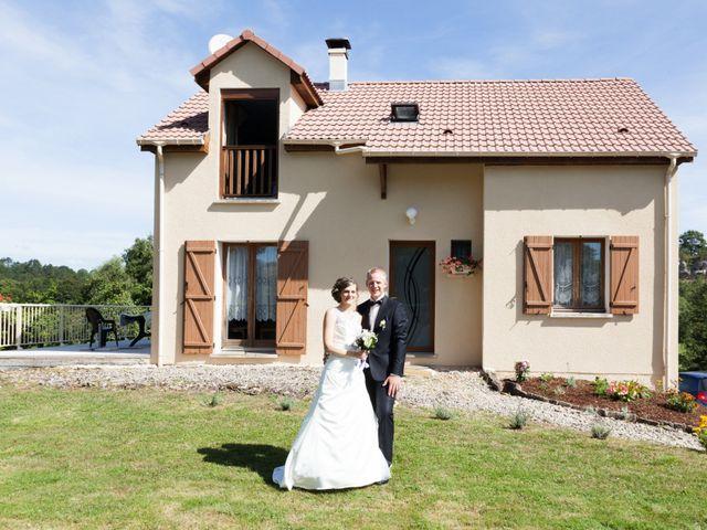 Le mariage de Luc-Marie et Marie à Circourt, Vosges 6