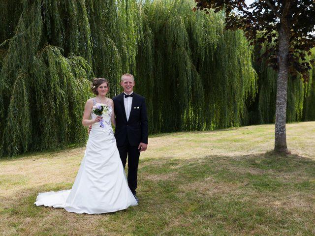 Le mariage de Luc-Marie et Marie à Circourt, Vosges 7