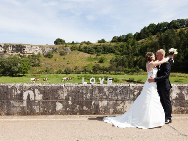 Le mariage de Luc-Marie et Marie à Circourt, Vosges 1
