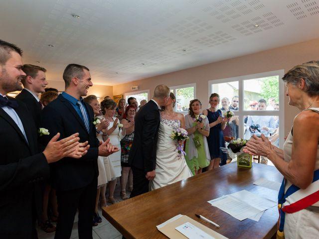 Le mariage de Luc-Marie et Marie à Circourt, Vosges 11
