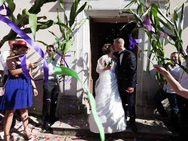 Le mariage de Luc-Marie et Marie à Circourt, Vosges 12