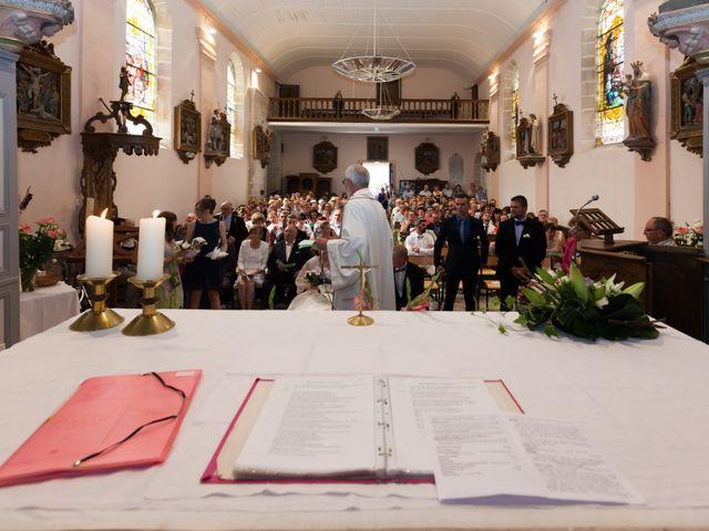 Le mariage de Luc-Marie et Marie à Circourt, Vosges 14