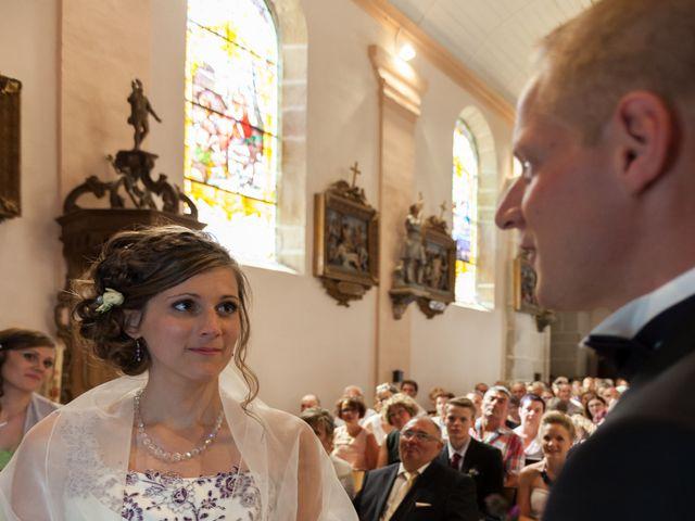 Le mariage de Luc-Marie et Marie à Circourt, Vosges 15