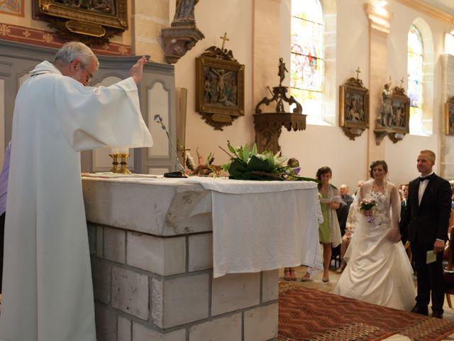 Le mariage de Luc-Marie et Marie à Circourt, Vosges 17