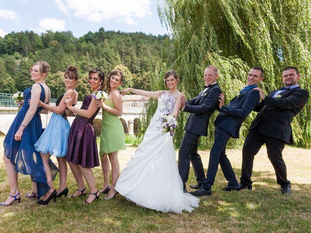 Le mariage de Luc-Marie et Marie à Circourt, Vosges 2
