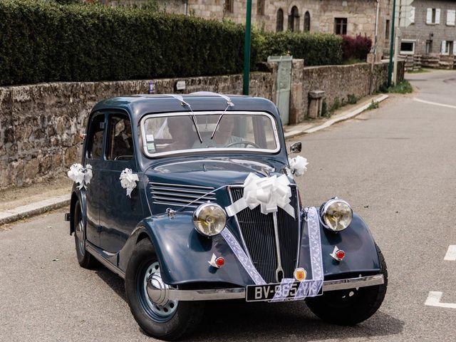Le mariage de Romain et Justine à Saint-Genest-Malifaux, Loire 2