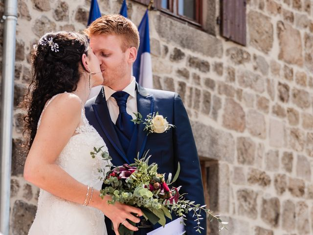Le mariage de Romain et Justine à Saint-Genest-Malifaux, Loire 5