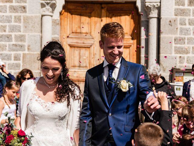 Le mariage de Romain et Justine à Saint-Genest-Malifaux, Loire 7