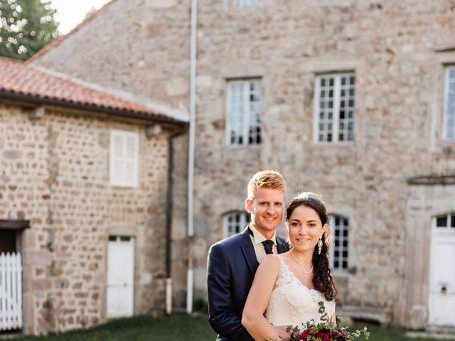 Le mariage de Romain et Justine à Saint-Genest-Malifaux, Loire 20