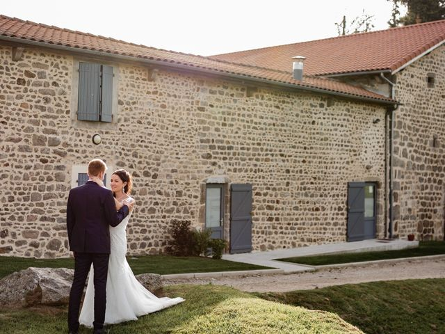 Le mariage de Romain et Justine à Saint-Genest-Malifaux, Loire 11