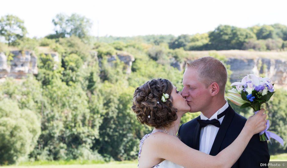 Le mariage de Luc-Marie et Marie à Circourt, Vosges
