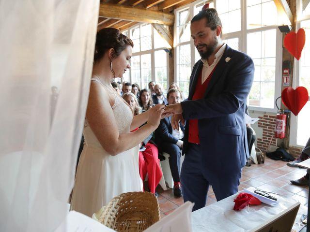 Le mariage de Guillaume et Karine à Jouy-le-Moutier, Val-d'Oise 94