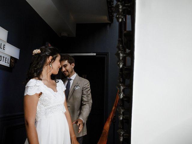 Le mariage de Charles et Imane à Paris, Paris 35