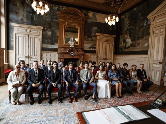 Le mariage de Charles et Imane à Paris, Paris 39