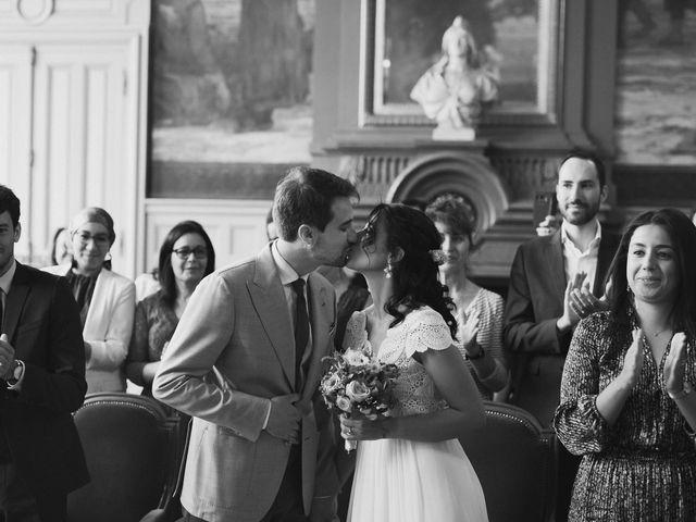 Le mariage de Charles et Imane à Paris, Paris 45