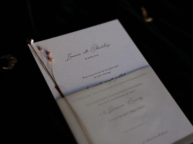 Le mariage de Charles et Imane à Paris, Paris 94