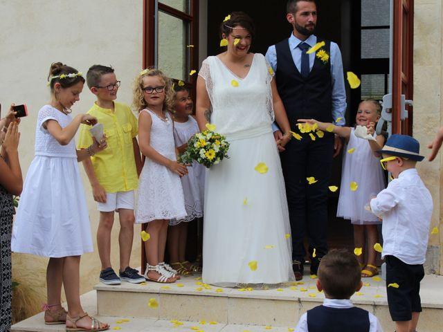 Le mariage de Mickaël et Charlotte à Tennie, Sarthe 22
