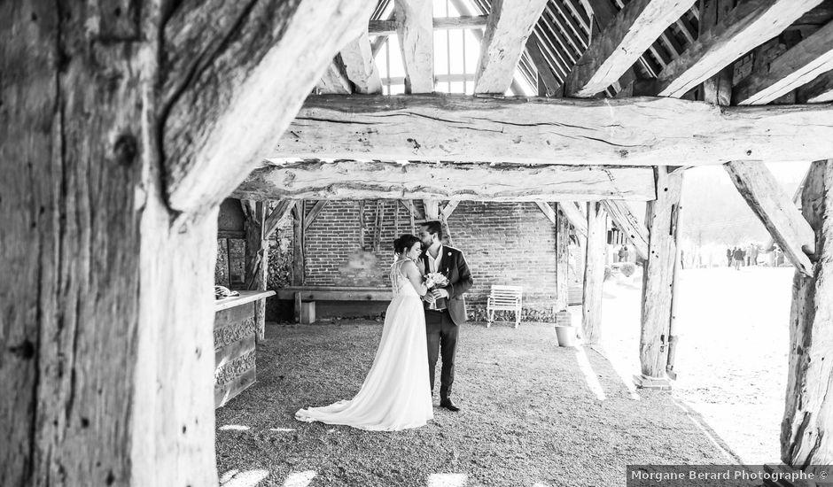 Le mariage de Guillaume et Karine à Jouy-le-Moutier, Val-d'Oise