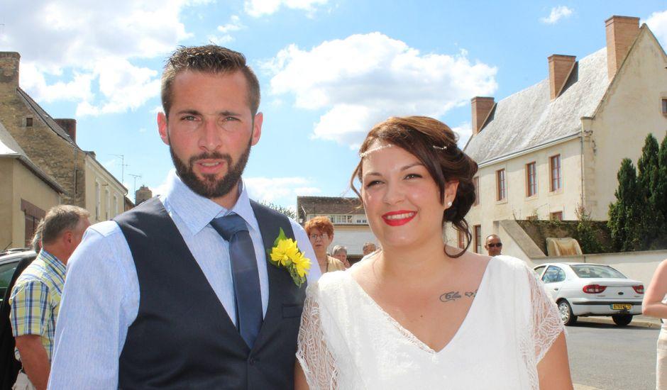 Le mariage de Mickaël et Charlotte à Tennie, Sarthe