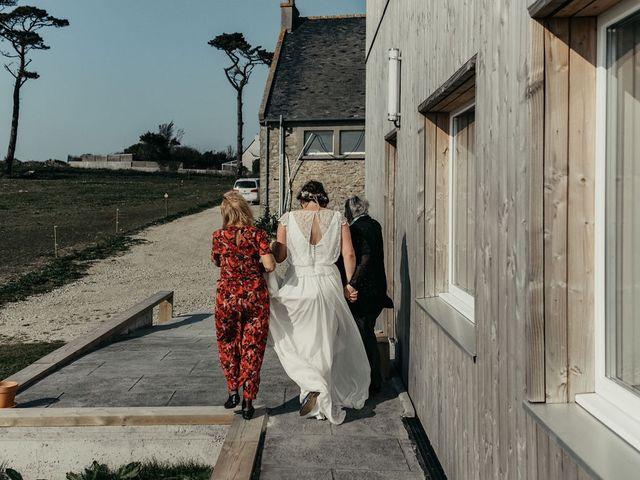 Le mariage de Xavier et Siane à Plouarzel, Finistère 56