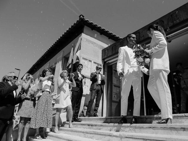 Le mariage de Arthur et Salomé à Sauveterre, Gard 8
