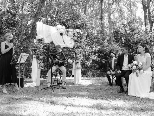 Le mariage de Arthur et Salomé à Sauveterre, Gard 59