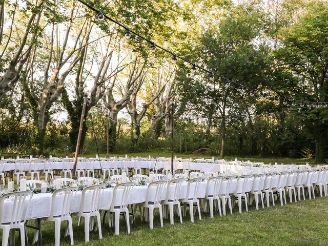 Le mariage de Arthur et Salomé à Sauveterre, Gard 89
