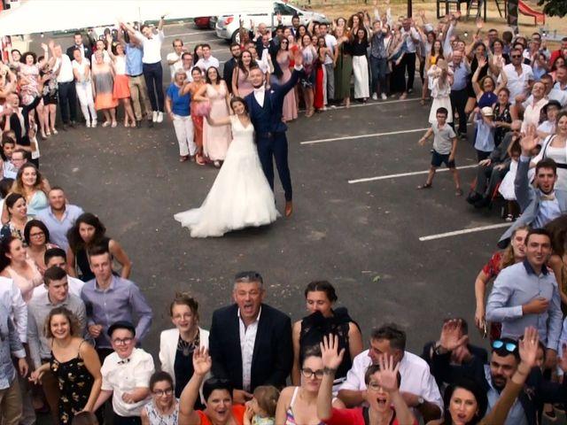 Le mariage de Jordan et Flavie à Chiché, Deux-Sèvres 17