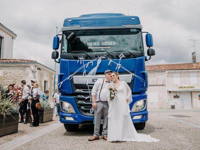 Le mariage de Nicolas et Jennifer à Muron, Charente Maritime 10