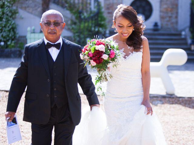Le mariage de Julien et Juanita à Vaugrigneuse, Essonne 9
