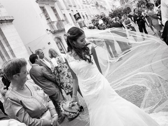 Le mariage de Fabien et Sara à Vonnas, Ain 5
