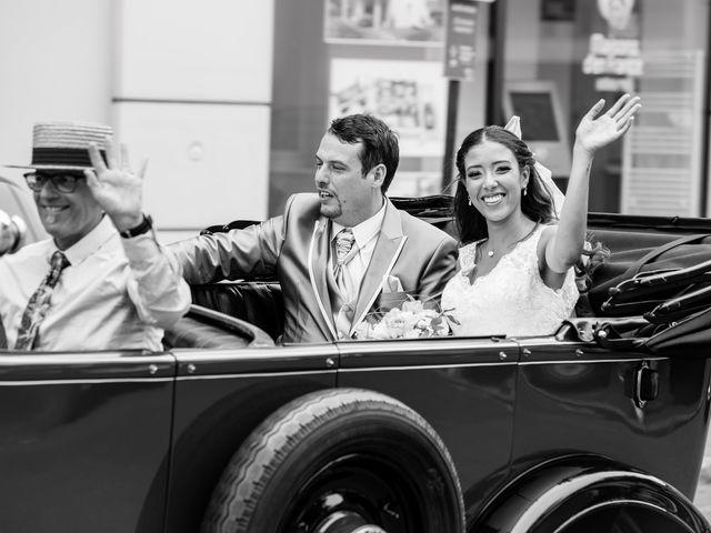 Le mariage de Fabien et Sara à Vonnas, Ain 8