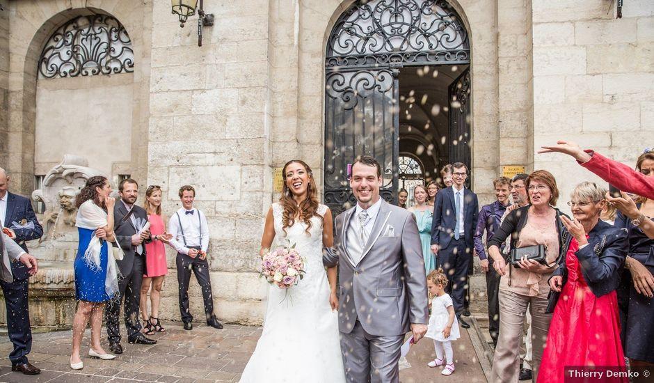 Le mariage de Fabien et Sara à Vonnas, Ain