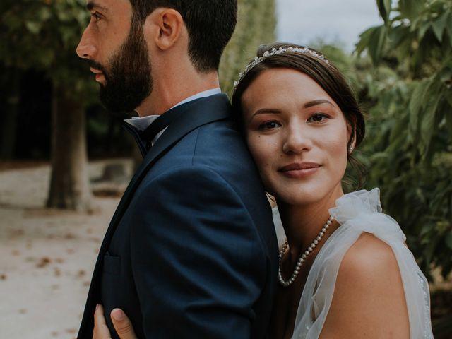 Le mariage de Xavier et Iris à Paris, Paris 1