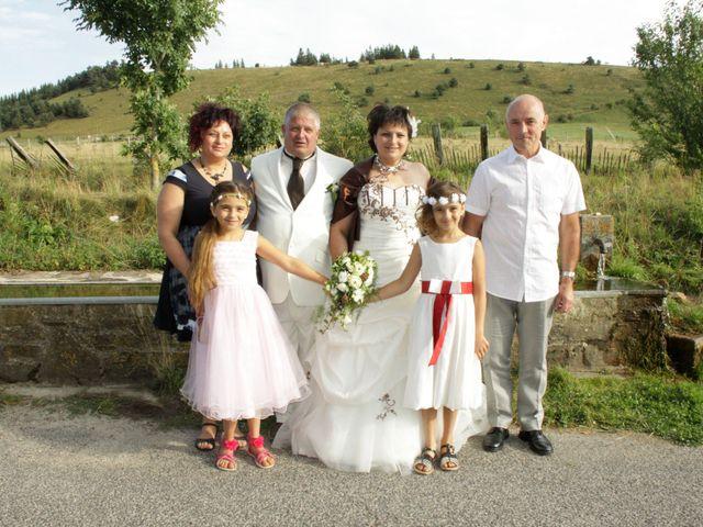 Le mariage de Jean-Claude et Mélanie à Belvezet, Lozère 56
