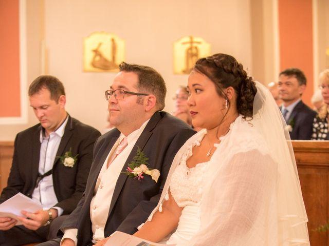 Le mariage de Jean-Christophe et Laure à Habsheim, Haut Rhin 15