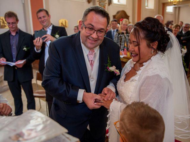 Le mariage de Jean-Christophe et Laure à Habsheim, Haut Rhin 16