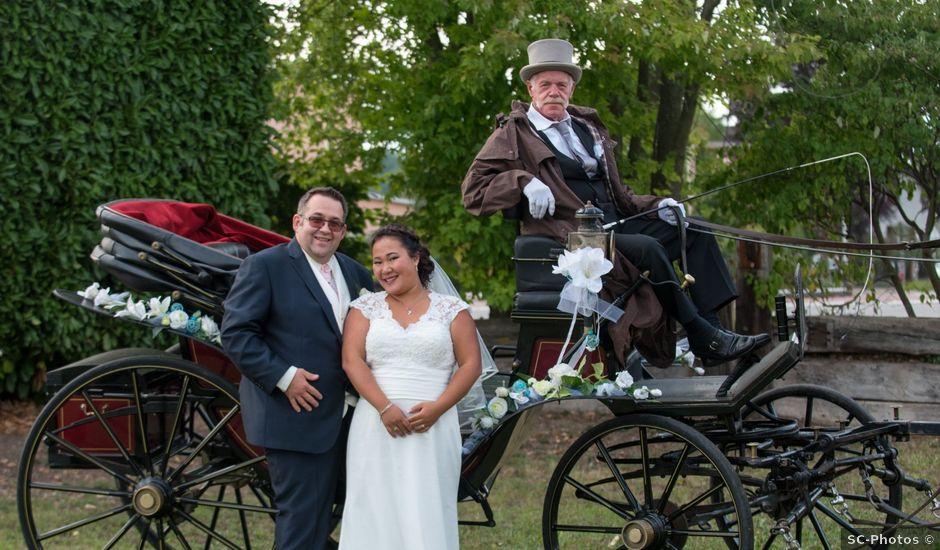 Le mariage de Jean-Christophe et Laure à Habsheim, Haut Rhin