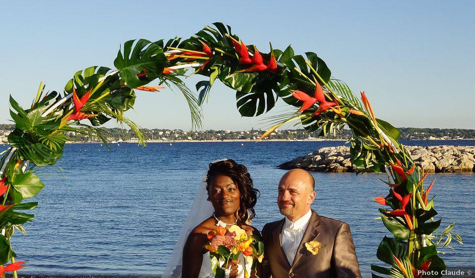 Le mariage de Cédric et Florence à Le Cannet, Alpes-Maritimes