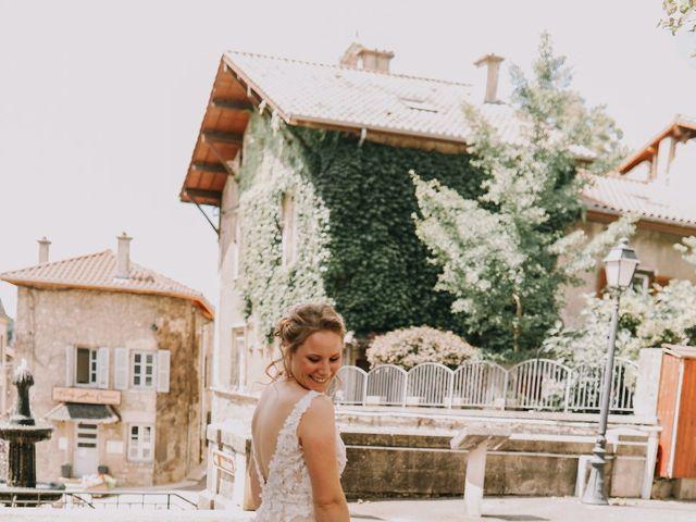 Le mariage de Guillaume et Marie à Vignieu, Isère 15