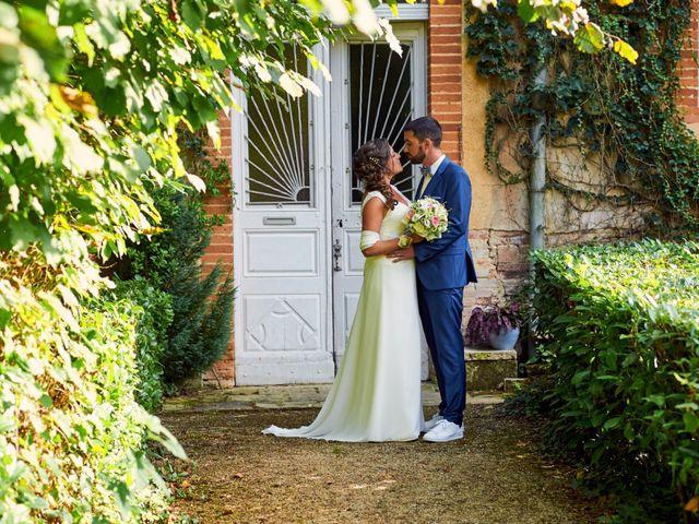 Le mariage de Etienne et Caroline à Pujaudran, Gers 14