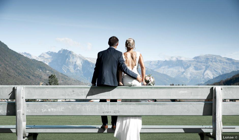 Le mariage de Anthony et Céline à Taninges, Haute-Savoie