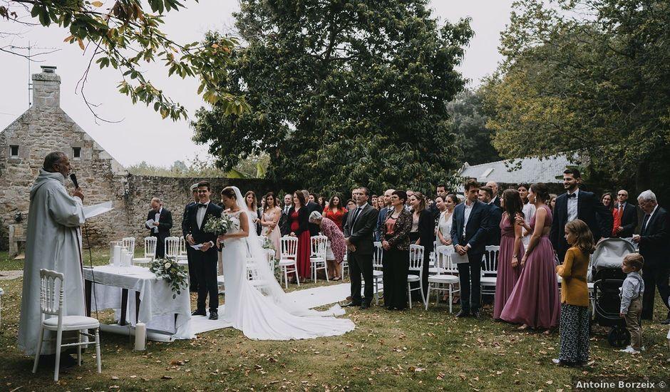 Le mariage de Guillaume et Hélène à Loctudy, Finistère