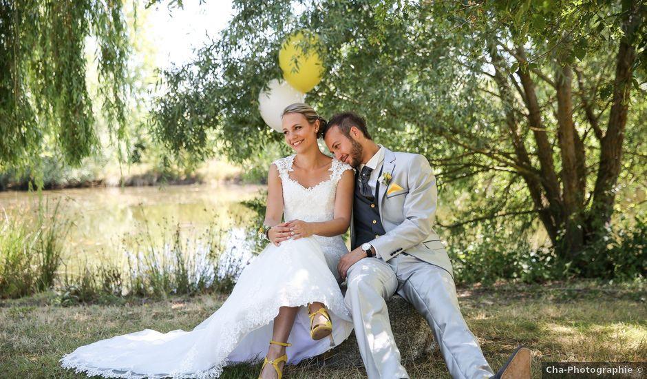 Le mariage de Stéphane et Justine à Autrèche, Indre-et-Loire