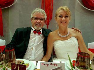 Le mariage de  Claudine et Christian