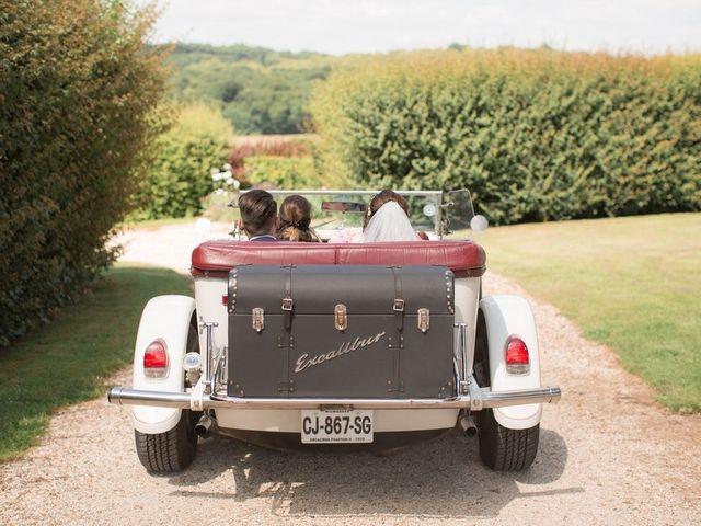 Le mariage de Guillaume et Laetitia  à Aincourt, Val-d'Oise 26